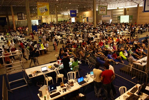 Campus Party Brasil 2009 - 2º dia
