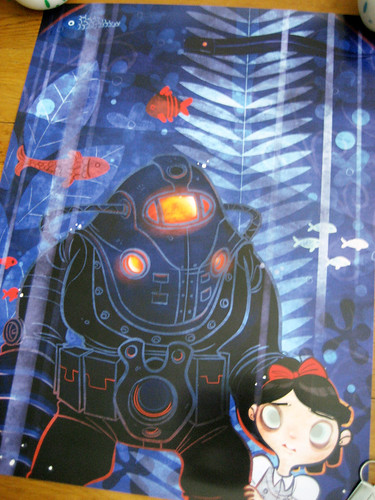 Free poster from BioShock 2 booth