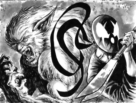 New Grendel Sketch Card Commissions