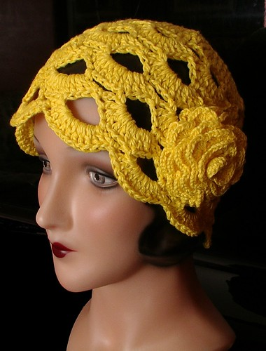 yellow cloche