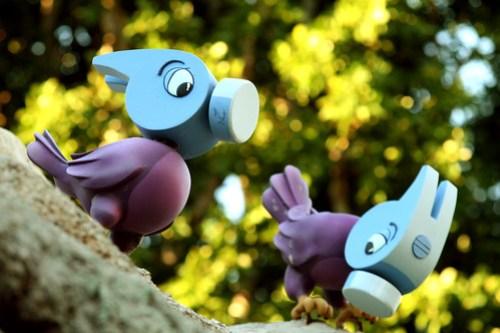 Hammer birds by andy castro