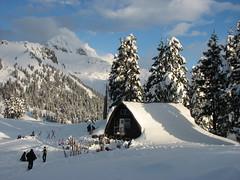 Elfin Lakes snowshoe, 20 Jan 2008