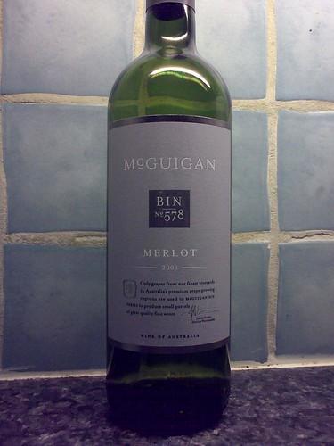 McGuigan Bin 578 Merlot