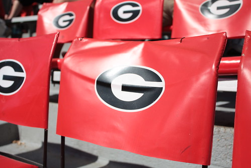 georgia football seats