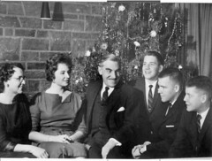 1960 Family Christmas