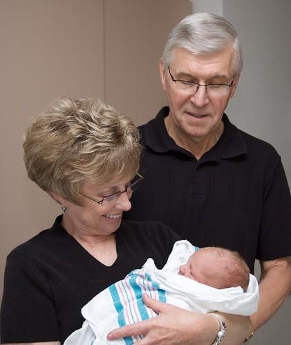 Grandma and Grandpa Raguet