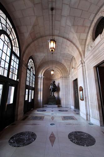 Entrance, Boston Public Library