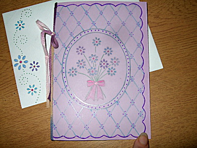 card with matching envelope