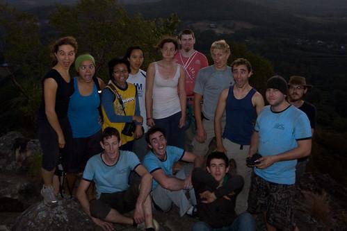 Mt Ngungun Aug '09