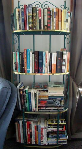 My books on new shelf