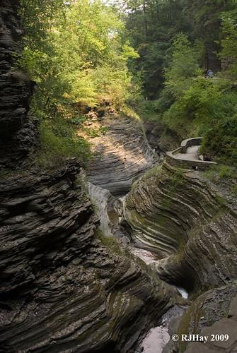 Watkins Glen's Gorge - August 2009