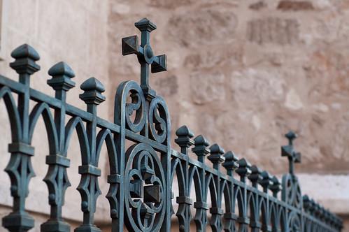 Reja de la iglesia magistral de Alcalá de Henares