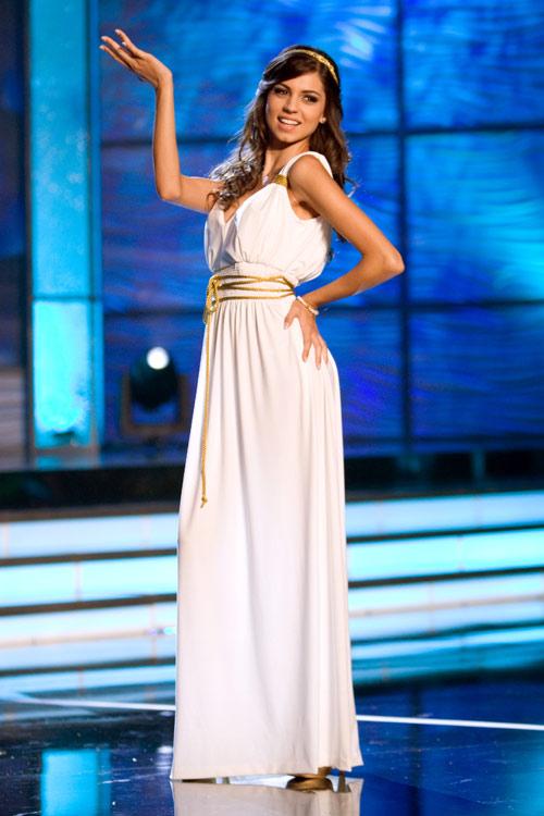 Traje Típico de Miss Chipre