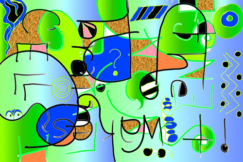 Nonsense digital art (c) 2004, Lynne Medsker