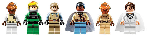 LEGO Star Wars 7754 Home One minifigs