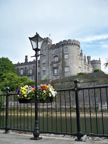 view to Kilkenny Castle from River Court Hotel 4