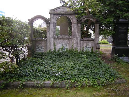 Dorfkirche Schöneberg - Familiengrab Mette