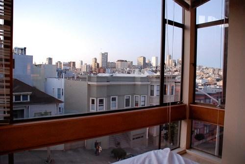 Utsikt från sängen
