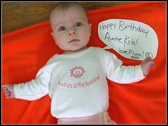Happy birthday Auntie Kyla!