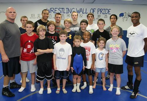 Black and Blue Wrestling Camp
