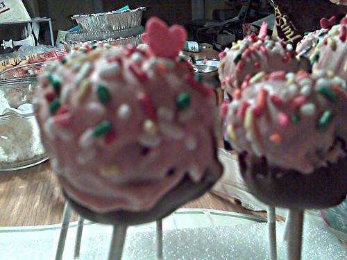 cake pops a la Bakerella