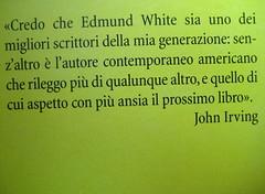 La doppia vita di Rimbaud, di Edmund White, Minimum Fax 2009; progetto grafico di Riccardo Falcinelli, risvolto della q. di cop., (part.), 2