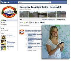 Using social media for emergency response