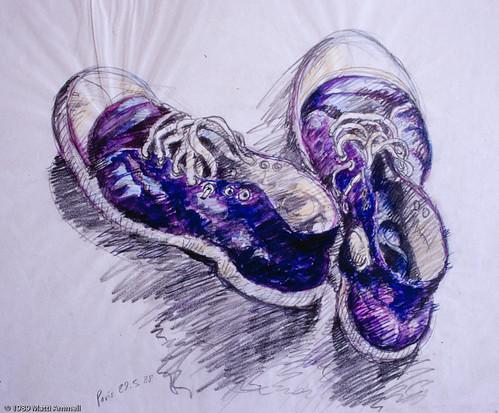 My long-suffering sneakers