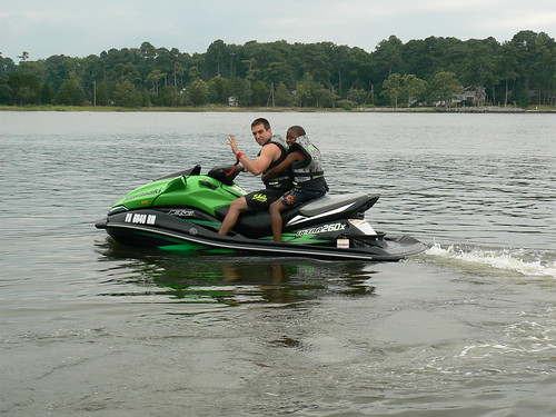 Jet Skiing - ZJ Waves with Jacal