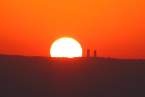 Sunrise over Amman