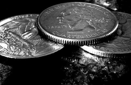 Macro Quarters. (Ilford Pan F Plus. Nikon F100. Epson V500.)