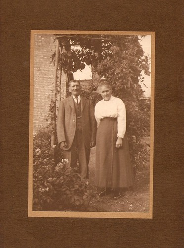 Edward and Mary Ann Moden at home in Ely, Cambridgeshire