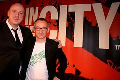 Pat Nevin with Simon Raymonde