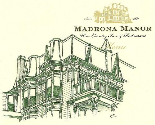 madrona manor en vert
