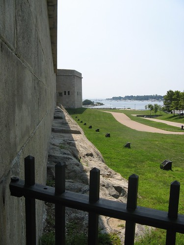 walls of the fort