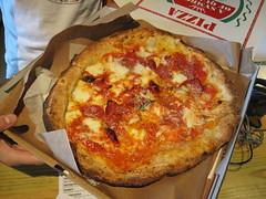 antico pizza - diavaola unboxed