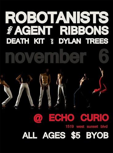 ROBOTANISTS @ Echo Curio / Los Angeles, CA / 11.6.09