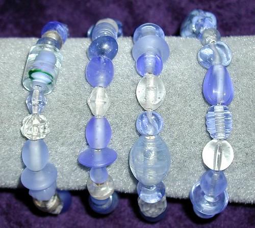 Light Blue Wrap Bracelet