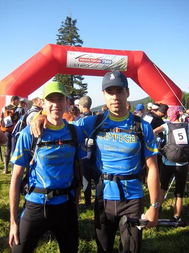 Start of maraton 7500