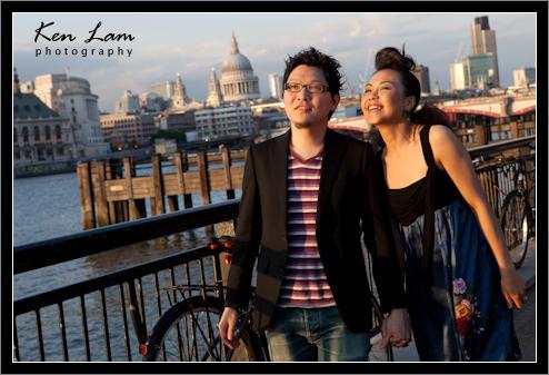 Sara & Luke - Pre-wedding in London
