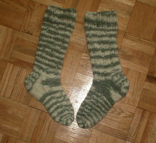 Whirling Woolly Worksocks - Complete