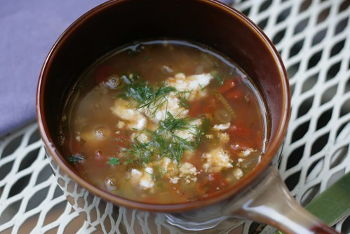 OLS Week 7 : Mediterranean soup