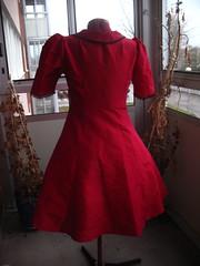 Christmas dress 2008 back