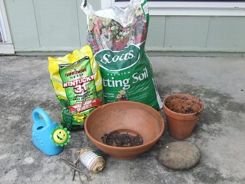 Easter Tomb ingredients
