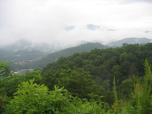 View of Gatlinburg, TN