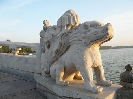 Bridge outside the Summer Palace in Beijing, China. I went to this place on a spur of the moment, a quick decision I was happy to have made!