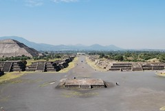 View from the Pyramid of the Moon.