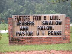 Feed & Lead, Swallow & Follow