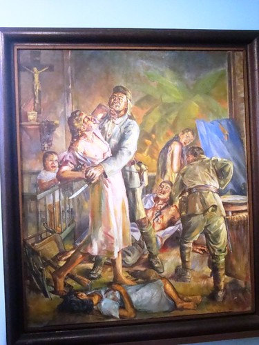 painting - raped