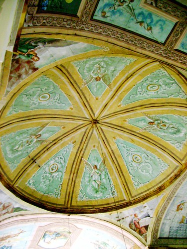 The dome with its beautiful artwork